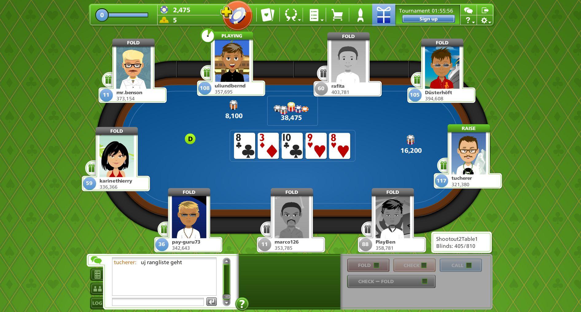 godgame poker
